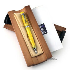 "Stipula ""I Castoni"" Citrino Limited Edition Ballpoint Pen"