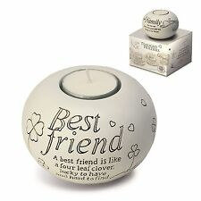 Said With Sentiment 7301 Best Friend Tealight Holder