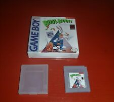 Bugs Bunny Crazy Castle (Nintendo Game Boy, 1990 Gameboy)-Box and Cart