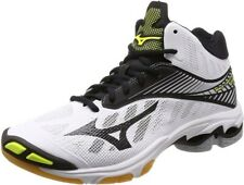 MIZUNO Volleyball Shoes Wave Lightning Z4 MID White Black Yellow From Japan