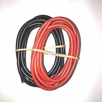 12AWG Black (5ft)+Red (5ft) Silicon Wire for RC ESC Motors Batteries 10ft. (USA)