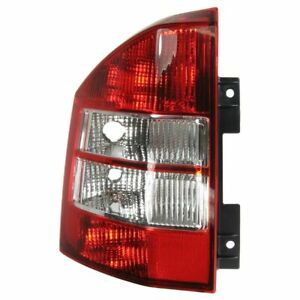 LH Left Driver Side Tail lamp Lens/Housing fits 2007 2008 2009 2010 Jeep Compass