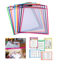 puzzle toy reused PVC transparent dry brush bag write wipe drawing adult toy`3C