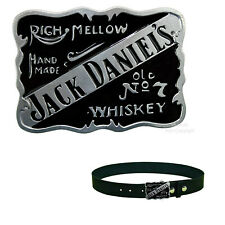 Jack Daniel`s Whiskey Lizenz Belt Buckle Merchandise Gürtelschnalle *380