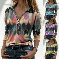 Women Fashion Sexy Slim Tops Female Long Sleeve T Shirt Blouse Tops Plus Size