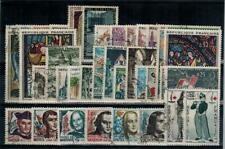timbres France n° 1368/1403 oblitérés année 1963 complète