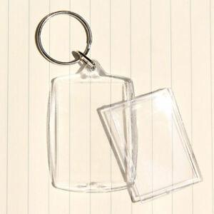 5 x Acryl Schlüsselanhänger für Ihr Foto Bild Werbung Werbeanhänger Familie