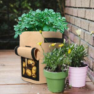 7 Gallon Potato Planting Bag Pot Planter Growing Garden Vegetable Container