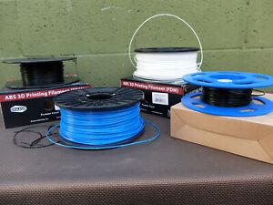 Shaxom LOT ABS 1.75mm Filament for 3D printer (FDM) please read descrition.