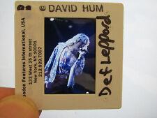 More details for original press promo slide negative - def leppard - joe elliott - 1990's - a