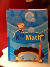 K12 Book Homeschool Math+ Book # 10205 isbn 1601530773 - see description
