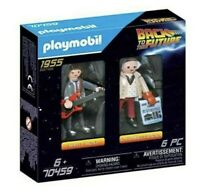 Playmobil 70459 Back to the Future Doc & Marty Mcfly Vtg Retro Toy (8)