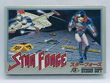 STAR FORCE Famicom Nintendo Japan NES Complete