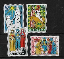Suriname 1995 Christmas MNH Set CV £12