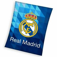 Real Madrid Cf Luxe Couverture Polaire 100% Polyester Chambre