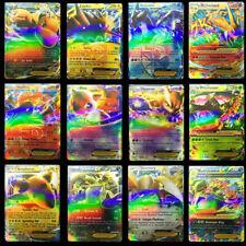 100Pcs Gx Pokemon Card Lot Tcg Cards Ultra Holo Rare Included - Gx Ex Mega