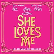 JANE KRAKOWSKI/ZACHARY LEVI/LAURA BENANTI - SHE LOVES ME [2016 BROADWAY CAST REC