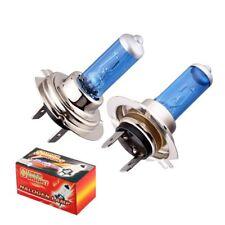 Pair H7 12V 100W Car Halogen Bulb 6000K Xenon Dark Blue Glass Super bright. 0299
