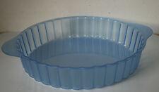TUPPERWARE Microwave Micro plus Cake /Pie Mold 7 Cups Blue  New