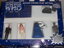 Doctor Who Dapol Limited Edition Black Blue Dalek Master Action Figure Gift Set