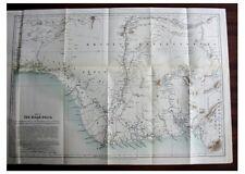 1888 Johnston - ROYAL NIGER DELTA - COLOR MAP - Cannibalism - TRADE - 12