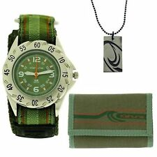 Kahuna Green Easy Fasten Watch, Wallet & Beads army camo  AKKS-002M