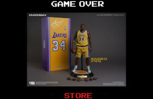 NBA Collection Real Masterpiece Figure 1/6 Shaquille O'Neal 37 Cm Enterbay