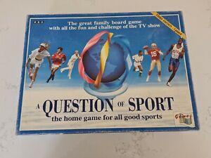 BBC A Question Of Sport Board Game (1994) Third Edition Inc Michael Jordan Card