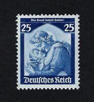 GERMANY 1935 RETOUR DE LA SARRE Nº 527 ** MNH
