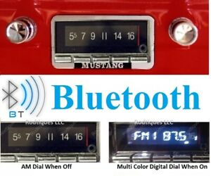 1964-1966 Ford Mustang Bluetooth Radio Hands Free 300 Watts 740