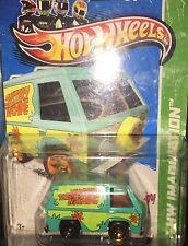 Hotwheels Mystery Machine ERROR & 2015 Hot Pink Simpsons+free