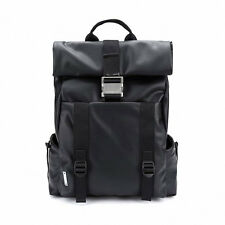 MANDARINA DUCK Men's Backpack NOMAD GNT30651 Black Polyurethane Zipper Pocket
