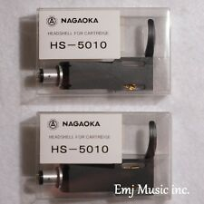 Set of 2 NAGAOKA Universal Headshells HS-5010 Made in Japan Official New F/S
