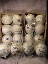 16 New A.D. Starr Spirt Softballs White Usssa Certified $4 each + shipping