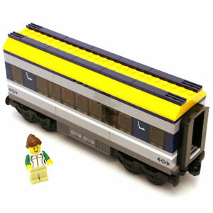 Lego Genuine City Passenger Train Railway Seating Car Carriage From 60197