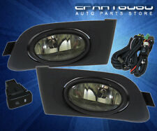 2001-2003 Honda Civic Sedan Jdm Front Smoke + Rear Smoke Fog Lights Lamps Len