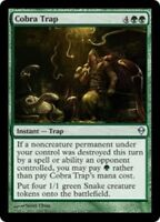 4x Cobra Trap MTG Zendikar NM Magic Regular