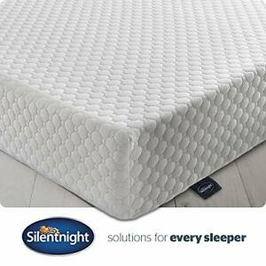 Silentnight 7 Zone Memory Foam Rolled Mattress | Made in the UK | |Medium Firm