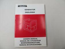 Honda Generator EU10i Owner's Instruction Manual Book Genuine  36ZT3622