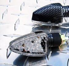 Short LED Signals - R1 R6 R3 FZ6R FZ1 MT09 GSXR ZX6 ZX10 Z1000 CBR 600RR 675 848