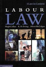 Labour Law by Aileen McColgan, Hugh Collins, K. D. Ewing 9781107608863