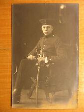 ~1910 Foto AK Soldat Säbel Stuttgart