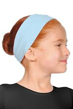 Pale Blue Cotton Headbands by Roch Valley
