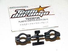Team Durango 1/10 DEX410v4 EP 4WD Buggy TD330125 Caster Block Plastic DEX410 (2)