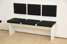 Klemmkissen Sitzkissen 37cm Klemm-Tiefe Kunst-Leder braun schwarz oder beige