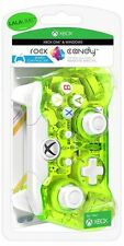 Rock Candy Wired Controller with Headset Jack - Aqualime (Xbox One, PC)