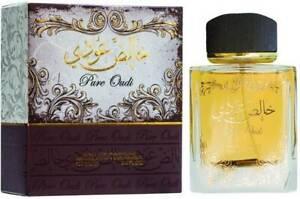 PURE OUDI 100ml by LATTAFA Eau De Perfum Men's Arabian Spray Perfume
