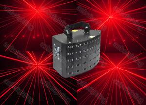 Red 40 multi beam Stage Lighting Laser DJ Disco KTV Equipment Laser Projector