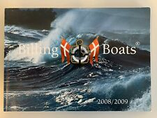 BILLING BOATS RARE VINTAGE 2008/2009 CATALOGUE BROCHURE PROSPEKT NEW!