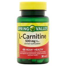 L-Carnitine Quemador De Grasa Pastillas Para Adelgazar Bajar De Peso New